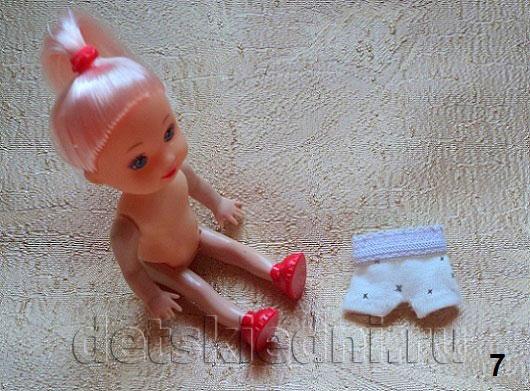 Как сшить пижама для куклы 508