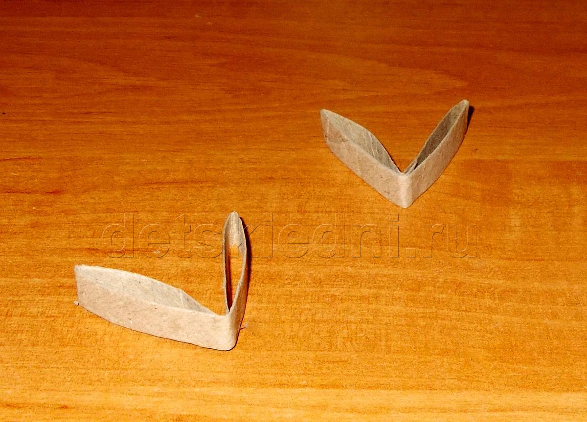 Снежинка из бумажного цилиндра. Шаг 6